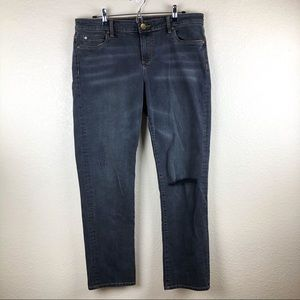 """Kut from the Kloth """"Catherine""""Faded Black Jeans 14"""